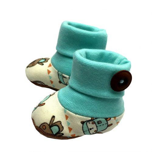 Söckchen Babyschuhe Schuhe Baby schnittmuster ebook