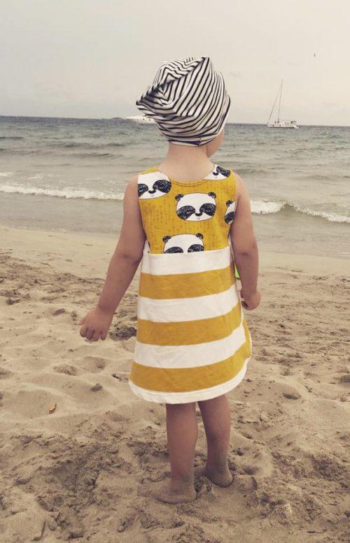 Kinderkleid, trägerkleid, kleid, kinder, mädchen, Schnittmuster, ebook, Nähanleitung