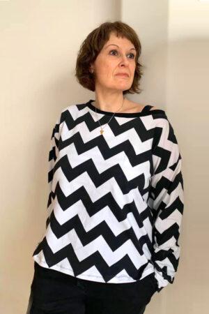 Acedia Damen Sweater Oversize Pullover ebook Nähanleitung Schnittmuster erbsünde