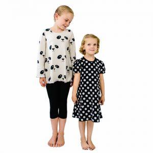 ebook Schnittmuster Kleid Tunika Mädchen erbsünde