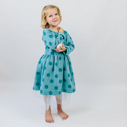 Papierschnitt FIDELIA - Kleid mit Tüllrock - erbsünde ...
