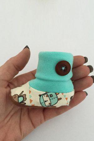 ebook Schnittmuster Gamaschensöckchen Babyschuhe Nähanleitung Novo erbsuende