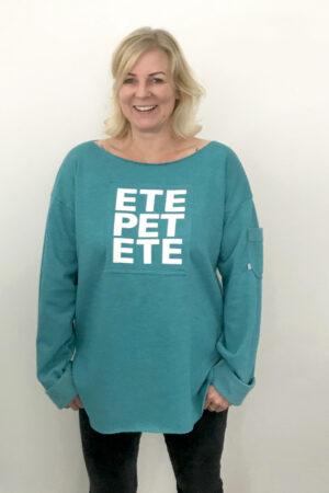 ebook Schnittmuster Nähanleitung Damen oversize Pullover Sweater erbsünde