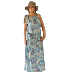 Luxuria Kleid Maxikleid ebook Schnittmuster Damen