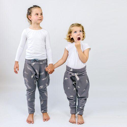ebook Schnittmuster Hose Pumphose Ballonhose nähen Anfänger Kinder Junge Mädchen einfach cool Baby