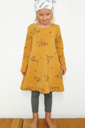 ebook Schnittmuster Kinder Kleid Sweatkleid Jerseykleid Baumwolle Preciosa erbsuende