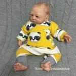 ebook Schnittmuster Baby Newborn Neugeboren nähen anfänger Hose Pumphose Ballonhose Wickeljacke