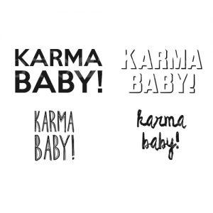 """Plotterdatei """"Karma Baby"""""""