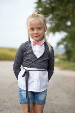 ebook Bolero Wickeljacke Mädchen Kinder Nähanleitung Schnittmuster
