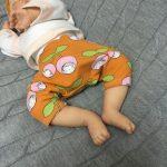 ebook Schnittmuster Baby Newborn Neugeboren nähen anfänger Hose Pumphose Ballonhose