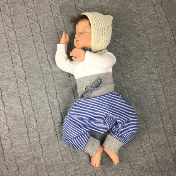 Tutorial - Nähen einer Babymütze - erbsünde - Schnittmuster ...
