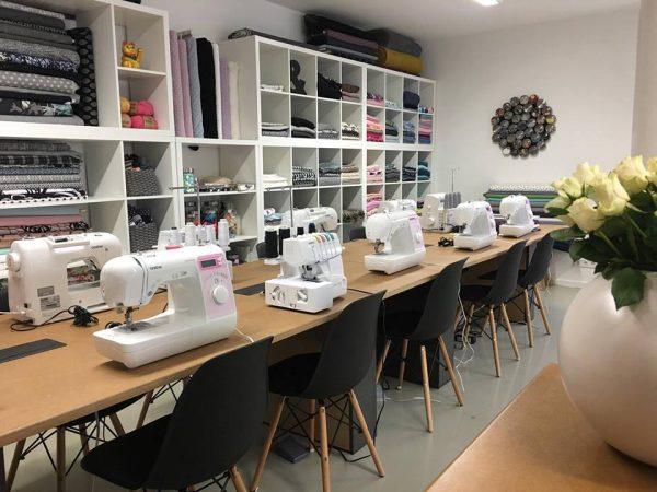 erbsünde Nähwerkstatt Nähkurse Nähen lernen München Giesing Workshop Stoffe Nähzubehör kaufen Meterware Schmuck Accessoires