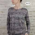 ebook schnittmuster Damen nähen Anfänger Kleid Knotenkleid Pulli Shirt Pullover top ärmellos lange Ärmel lässig Knoten