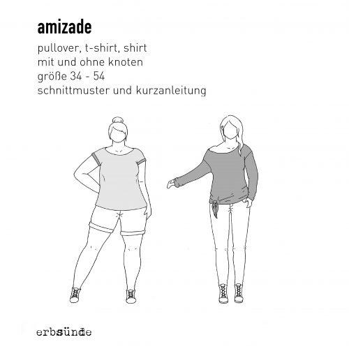 Papierschnitt Amizade - Knotenpulli/Pulloverkleid - erbsünde ...
