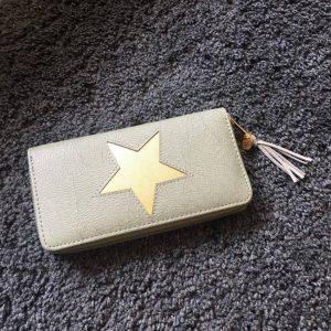 erbsünde Portemonnaie quaste stern schlicht geschenk