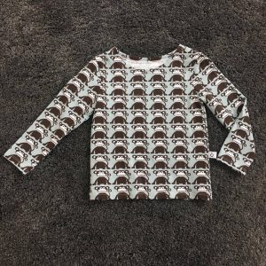 Retro Langarmshirt Affe handgefertigt handmade Jersey