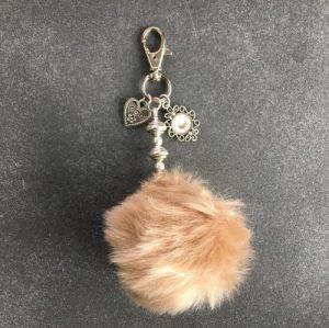 erbsuende schlüsselanhänger taschenanhänger geschenk Deko Pompom Pompon