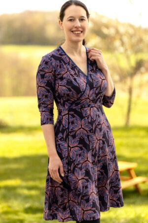 ebook Schnittmuster Damen Kleid Wickelkleid erbsuende cara mia