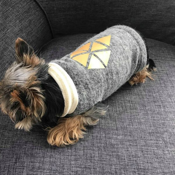 Tutorial: Hundepulli Bonnie - erbsünde - Schnittmuster, Nähkurse ...