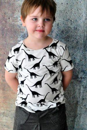 ebook Schnittmuster Shirt Basic langarm kurzarm tshirt mädchen jungs