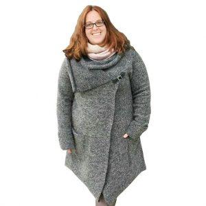ebook schnittmuster Mantel jacke cardigan amorada