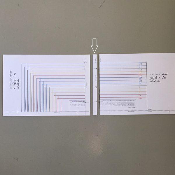 ebook kleben schnittmuster zusammenkleben anleitung tutorial