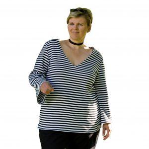 Dona estrela ebook Schnittmuster Top Shirt kleid erbsünde plus size übergröße