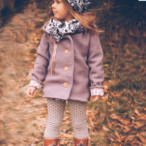 ebook Schnittmuster Kinder Jacke Wolljacke Strickjacke cardigan