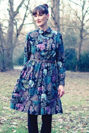 Schnittmuster Damen Kleid Hemdblusenkleid Blusenkleid ebook
