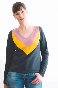 colorblocking tutorial anleitung nähanleitung nähen sweater