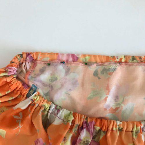 Superbia Tutorial Volant Sommerbluse Kleid