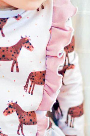 Pulapula Kinder Kleid Mädchen Tellerrock Rüsche Drehrock Drehkleid erbsünde Nähanleitung Schnittmuster ebook
