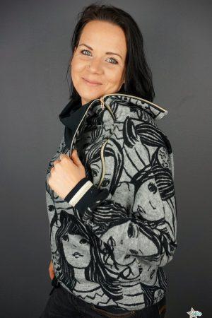 ebook Schnittmuster Damen Pullover Kragen Rolli Nähanleitung erbsünde