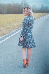 ebook Schnittmuster Nähanleitung Kleid Damen A-linie Sommerkleid erbsünde