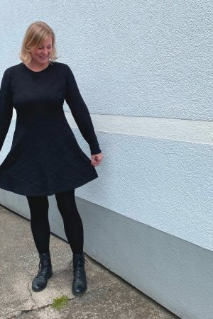 Petrolina ebook Schnittmuster Nähanleitung Kleid Damen Damenkleid A-linie Rock erbsünde
