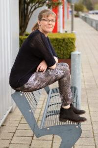 ebook Nähanleitung Schnittmuster Limeira Jeggings Damen erbsünde