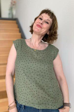 Goiaba ebook Schnittmuster Nähanleitung Damen Top Shirt erbsünde