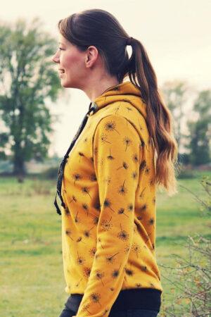 ebook Schnittmuster Naehanleitung Damen Pullover Hoodie Sweater Kapuzenpulli erbsuende