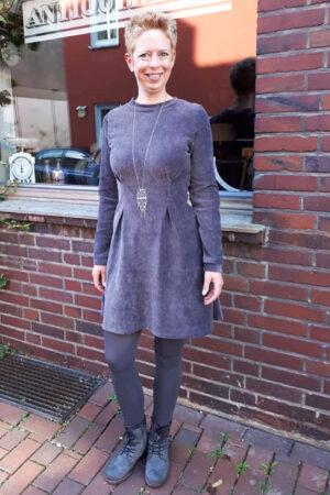 ebook schnittmuster naehanleitung damen kleid jerseykleid abnaeher erbsuende