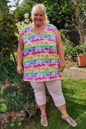 ebook_Schnittmuster_Dona Estrela_Curvy_Plus Size_Damen_Oberteil_Shirt_Top_erbsuende_1