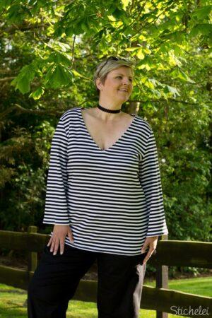 ebook_Schnittmuster_Dona Estrela_Curvy_Plus Size_Damen_Oberteil_Shirt_Top_erbsuende_6
