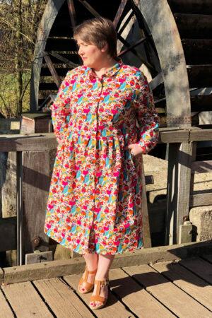 ebook_Schnittmuster_erbsuende_Damen_Kleid_Hemdblusenkleid_15
