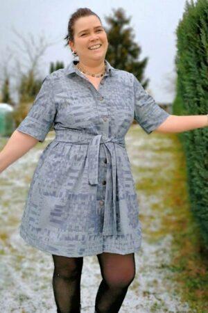 ebook_Schnittmuster_erbsuende_Damen_Kleid_Hemdblusenkleid_36