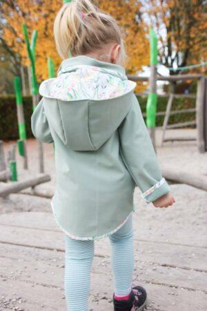 ebook Schnittmuster Naehanleitung Kinder Jacke Softshell Herbstjacke Regenjacke Kapuze erbsünde
