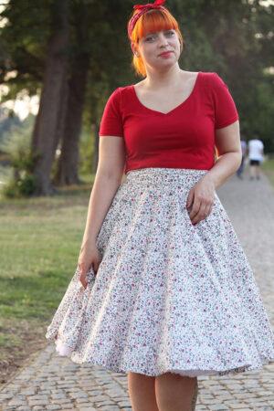 ebook Schnittmuster Naehanleitung Damen Kleid Top Shirt herzausschnitt Basic